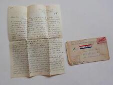 WWII Letter 1945 POWs Russian Polish French WW II Army WW11 VTG Paris France WW2