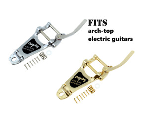 Vibrato - Bigsby, B7, for arch-top electric guitars Silver or Gold