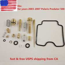 Polaris Predator 500 2003-2007 Carburetor Carb Rebuild Kit Repair US