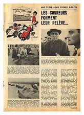 1963 DOCUMENT (ref IPS 1293) AUTO :  ECOLE PILOTE COURSE LOUIS CHIRON  (1p)