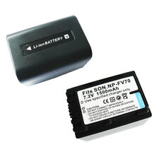 NP-FV70 1500mAh Replacement Battery for SONY HDR-XR100 XR150 HDR-XR200V XR350V