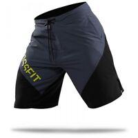 Reebok  Men's CrossFit Cordura ii Training (Grey/Black) Shorts Z90434