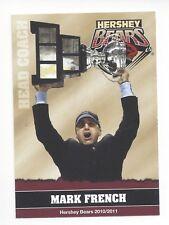 2010-11 Hershey Bears (AHL) Mark French (HC Fribourg-Gottéron)