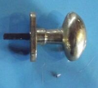 Ancienne poignée ovale de porte & tiroir élément d'architecture doré vintage
