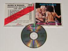 Guns N' Roses – Knockin' On Rockers Door Live USA '89 Very Rare Import CD