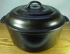# 8 O'Brien & O'Brien, Chicago Dutch Oven Fully Mk'd. & Matching Lid - GREAT !