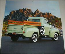 1952 Ford F1 Pickup truck print  (green)