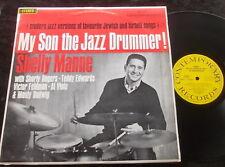 SHELLEY MANNE My Son The Jazz Drummer LP AUST Contemporary S3609