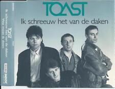 TOAST - Ik schreeuw het van de daken CD SINGLE 2TR BELGIUM 1990 (INDISC)