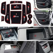 For Audi A3 Car Accessories Rubber Non-slip Mat Interior Cup Pad Door Groove Mat