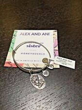 Alex & Ani Bracelet Sister in Silver  NWT Free Shipping