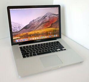 "Apple MacBook Pro Late 2011 15"" I7 2.2GHZ 8GB 500GB DVDRW WIFI High Sierra"