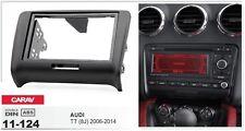 CARAV 11-124 2Din Kit de instalación de radio AUDI TT (8J) 2006-2014