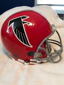 Atlanta Falcons Red Full Size Thowback Helmet 1970's