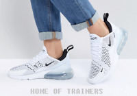 Nike Air Max 270 White Unisex Trainers All Sizes