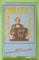 MC Musicassetta ORCHESTRA CARLETTO VENTURINI liscio italy no lp cd vhs dvd