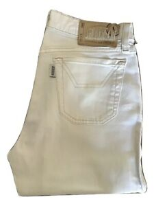 Pantalone da uomo Jeckerson Pantaloni Bianco Pant Casual Slim Trousers Size 28