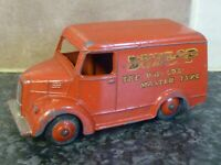 VINTAGE DINKY TOYS No.451 RED TROJAN VAN DUNLOP THE WORLDS MASTER TYRE