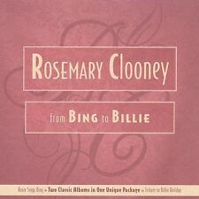 Rosemary Clooney - From Bing to Billie - 2 CD Set - 2 Albums in One