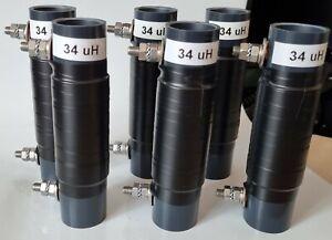 Verlängerungsspule mit 34 uH für Resonante EFHW Drahtantenne für 40-20-10 m Band
