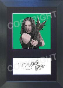 DIMEBAG DARRELL Pop Art Signed Mounted Reproduction Autograph Photo Prints A4