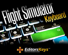 FLIGHT SIMULATOR X KEYBOARD - BACKLIT PC - US VERSION