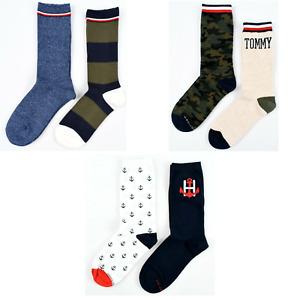 Tommy Hilfiger Women's Socks One Size 9 -11 100% Cotton NWT