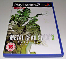 Metal Gear Solid 3 Snake Eater PS2 PAL *Complete*