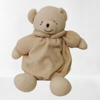 Miyim simply organic teddy bear lovey soft toy plush baby toddler EUC