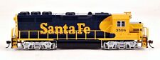 Bachmann HO Scale Train Diesel GP40 DCC Equipped Santa Fe (Blue & Yellow) 60304