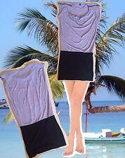 Minikleid Shirtkleid Long Shirt / Tunika  Grau/Schwarz Gr.M