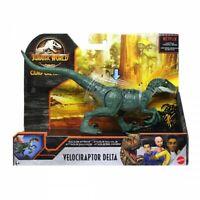 Jurassic World 2020 Velociraptor DELTA Savage Strike Figure Dinosaur Mattel NEU
