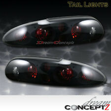 93-97 98-02 Chevy Camaro Tail lights lamps Black Dark Smoke Pair 95 96 99