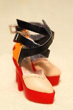 Fashion Royalty Buena Sera Kyori Multi-color Platform heels shoes MINT#FR3