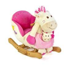 Knorr-Baby Schaukelpony Paula mit Handpuppe Weiß-pink