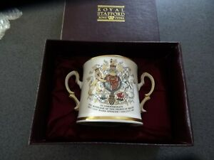 L@@K Royal Stafford -loving cup - limited edition-Charles & Diana Wedding