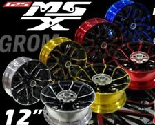 """Honda Grom MSX125 - SF Front Rear Wheels 5 Color 2013-2019 Size F4""""- R5"""" x 12"""""""