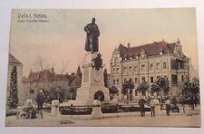 Alte AK, Postkarte, Oels, Oleśnica , Schlesien, gelaufen 1909
