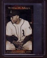 WILLIE MAYS, '50 ALMENDARES (CUBA) SCORPIONS, CUBAN WINTER LEAGUE BASEBALL