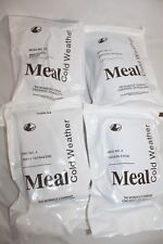 4 - US Military Cold Weather Meal 2021 MRE/MCW Mountain House,Chicken,Chowder
