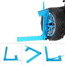 Configurar herramienta RC coche rueda 3 en 1 Calibrador de inclinación para 1/8 y 1/10 una herramienta RC coche de carretera