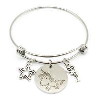 Animal Bracelet Unicorn Dog Elephant Bangle Lucky Protection Bangle Friendship