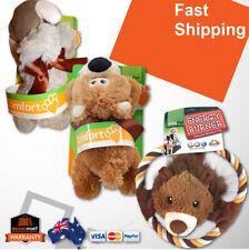 VitaPet Dog Puppy Animal Plush Stuffed Toys Comforter Soft Bear Rhino Lion *AUS