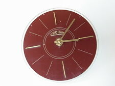 60s Vintage PRIM ELECTRONIC Plastic Wall Clock Made in CZECHOSLOVAKIA VERY RARE