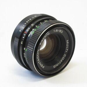 Pentacon Electric 1.8/50mm Multi Coated Vintage Prime Lens M42 Mount (see desc.)