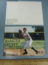 OAKLEY baseball youth QUARTER JACKET dealer promotional counter display New