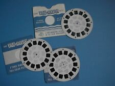 ViewMaster  3 Reel Set # 830 A B C Bobby Bunny, Little Red Hen, Skippy Squirrel