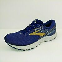 Brooks Adrenaline GTS 19 Mens Running Shoes Sz 9.5 US / 43 EUR Navy 1102941D439