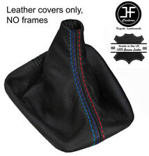 BLACK STITCH LEATHER MANUAL GEAR COVER FITS BMW 5 SERIES E60 E61 03-2010 M ///