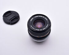 Canon Lens FD 28mm f/2.8 S.C. Wide Angle with Caps  (#8950)